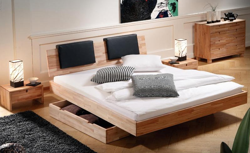 boxspringbett mit holz boxspringbett holz haus dekoration. Black Bedroom Furniture Sets. Home Design Ideas