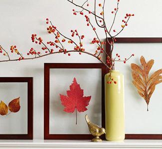 Stimmungsvolle Herbstdeko