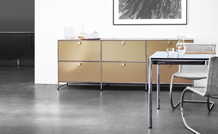 Wohnzimmer Raumdesign Modern Designklassiker Usm Haller