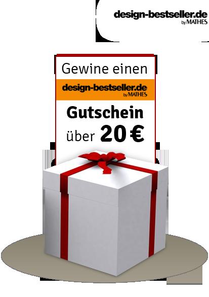 Einen design-bestseller.de Gutschein im Wert von 20 Euro