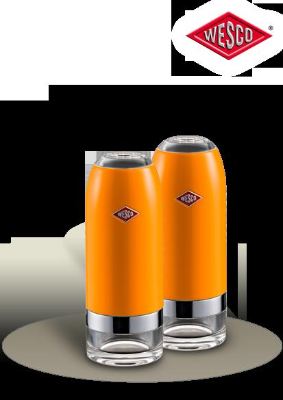 Eine Salz- und Pfeffermühle von WESCO