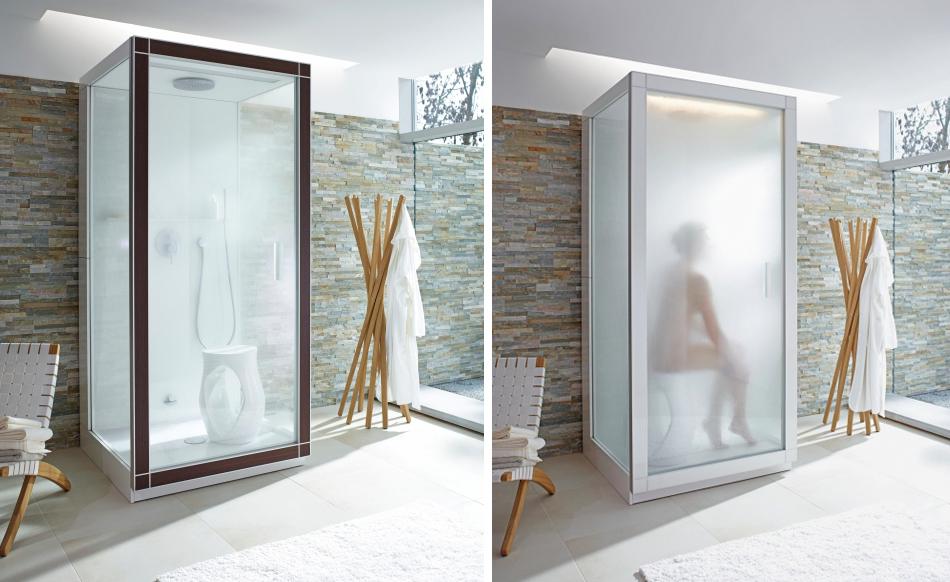 amazing einfache dekoration und mobel der geheimtipp fur die kalten tage dampfduschen #1: Philippe Starck Dampfdusche