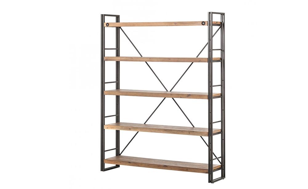 holzregale f r die k che. Black Bedroom Furniture Sets. Home Design Ideas