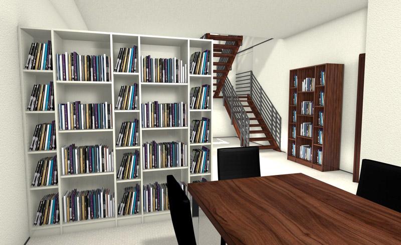 marvelous einfache dekoration und mobel meine mobelmanufaktur perfekte raumlosungen #1: Bücherregal oder Schrank als Raumtrenner