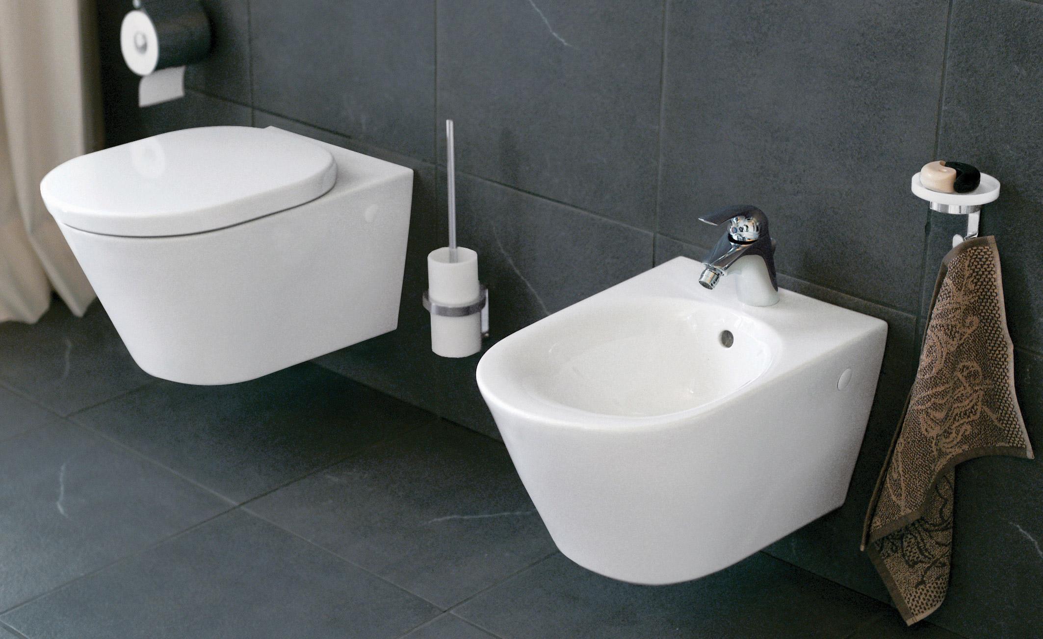 ein bidet f r das wc. Black Bedroom Furniture Sets. Home Design Ideas