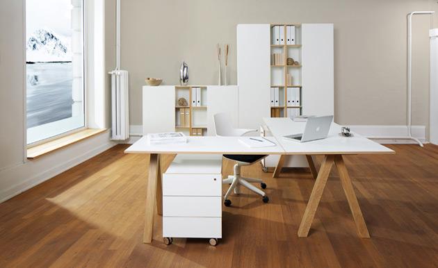 der perfekte schreibtisch. Black Bedroom Furniture Sets. Home Design Ideas