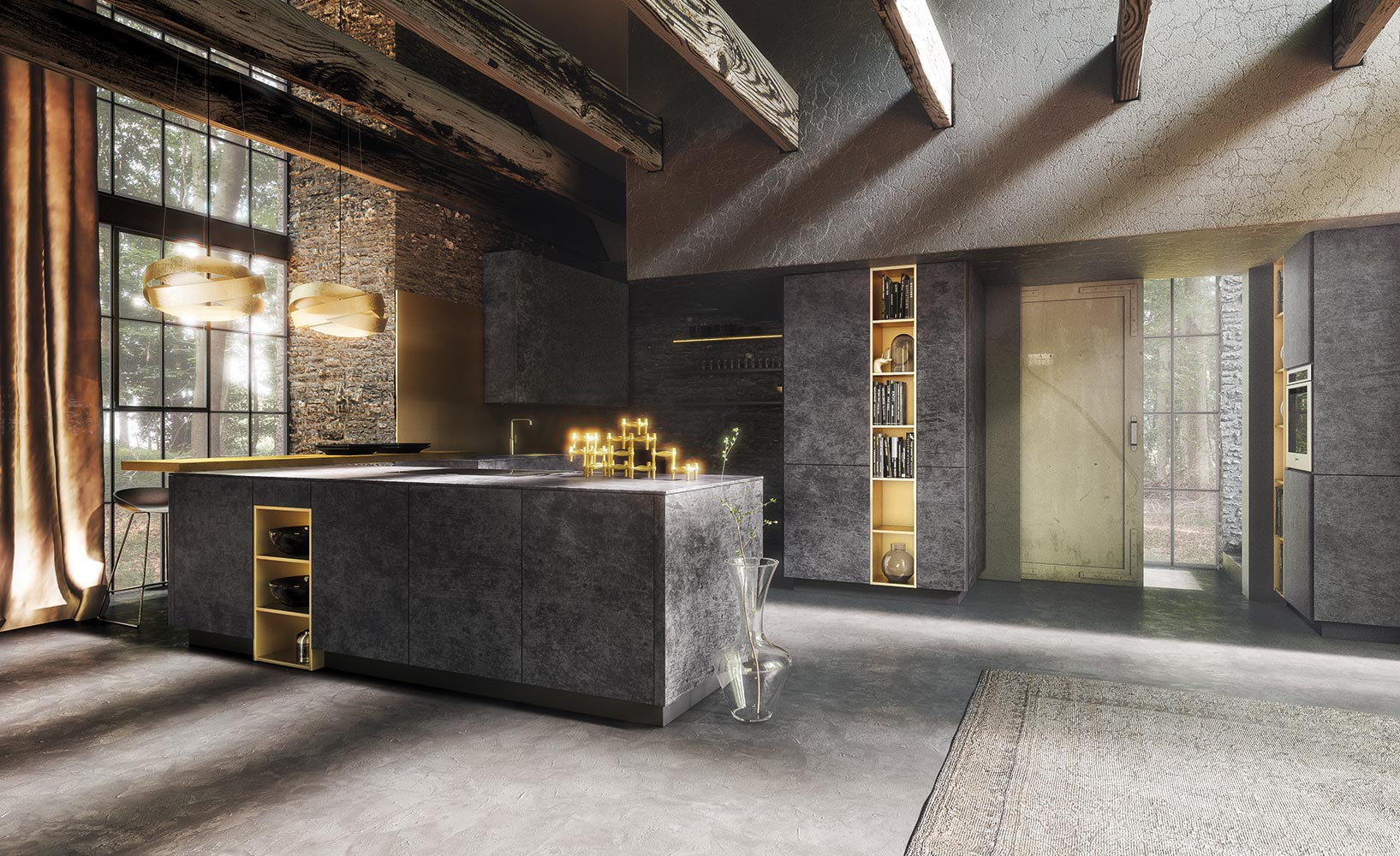 Die Designküche U2013 Stilvolle Funktionalität Und Formreduzierung