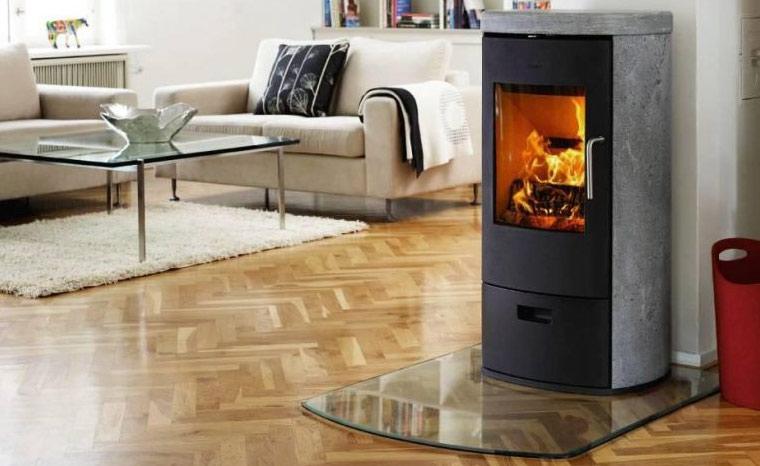 gem tlichkeit durch kamin im wohnzimmer. Black Bedroom Furniture Sets. Home Design Ideas