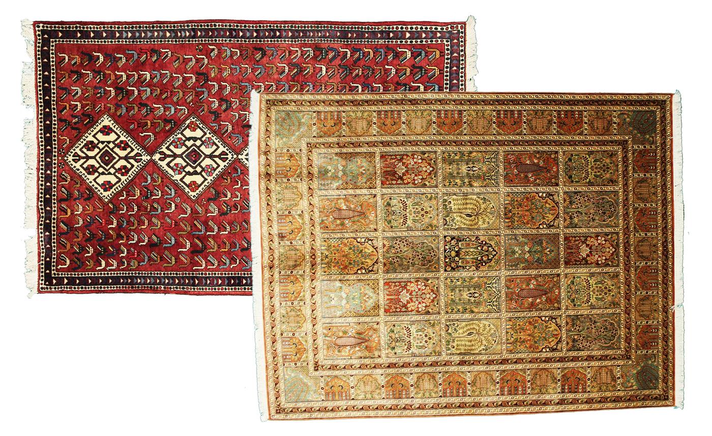 orientalisches flair mit perserteppichen. Black Bedroom Furniture Sets. Home Design Ideas