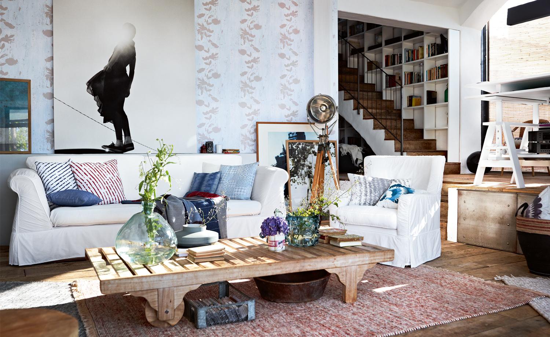 Mediterran wohnen - Wohnzimmer mediterraner stil ...