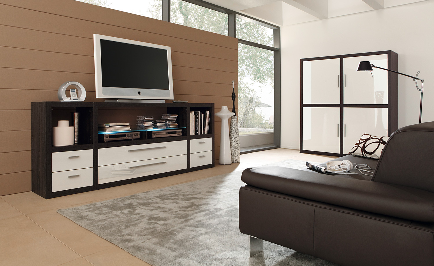 moderne einrichtungsideen f r das wohnzimmer. Black Bedroom Furniture Sets. Home Design Ideas