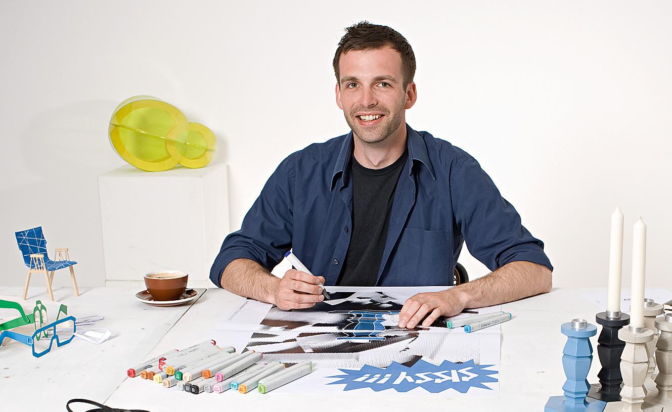 Produktdesigner Tim Kerp