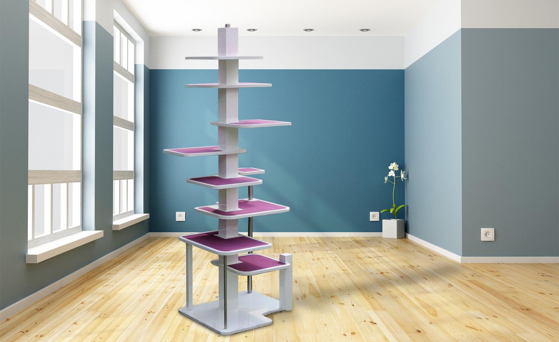 katzenbaum deluxe. Black Bedroom Furniture Sets. Home Design Ideas