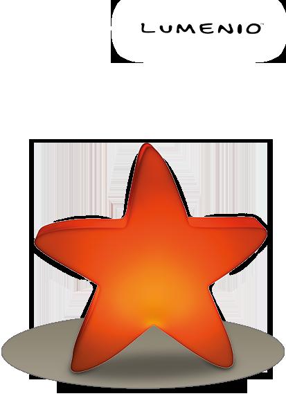 einen LED Stern mini von LUMENIO®