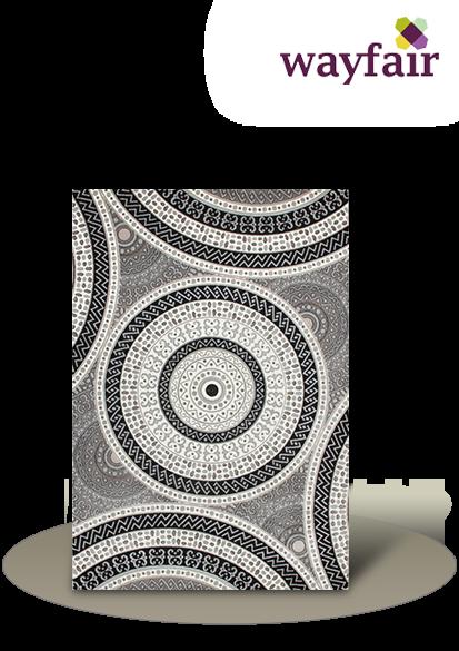 einen Teppich