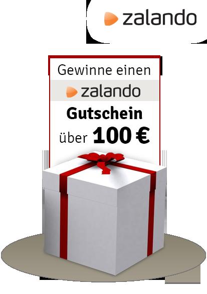 einen Zalando® Gutschein im Wert von 100 Euro