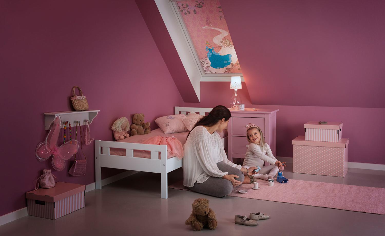 fensterdekoration f r das kinderzimmer. Black Bedroom Furniture Sets. Home Design Ideas