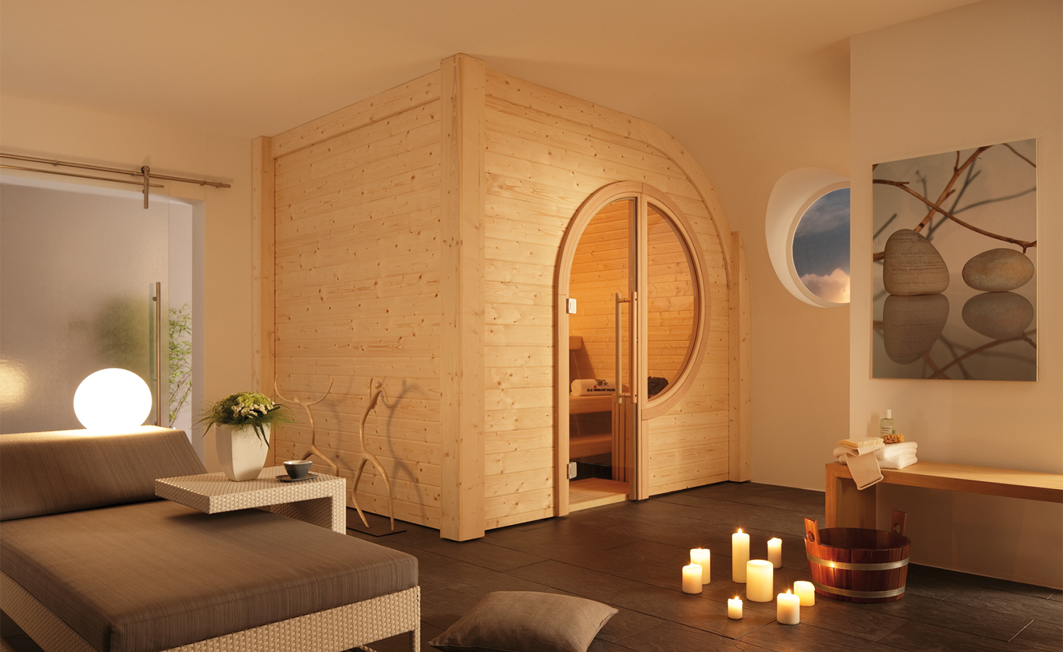 sauna im keller was muss man beachten ostseesuche com. Black Bedroom Furniture Sets. Home Design Ideas
