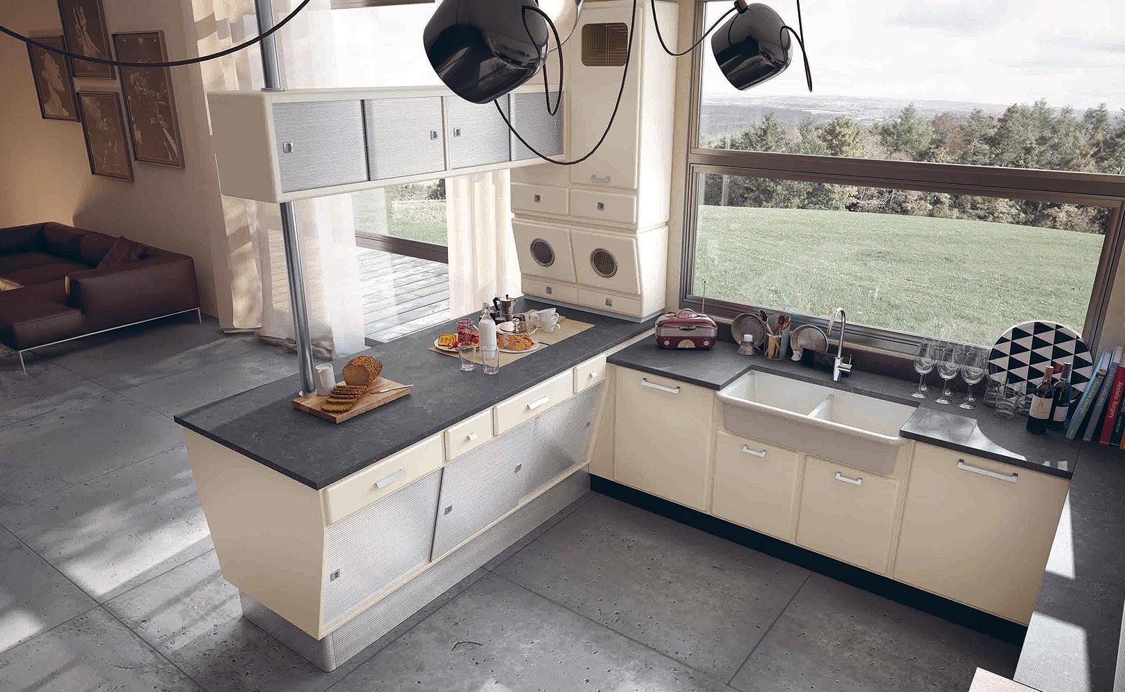 Küche Vintage Look: Louis