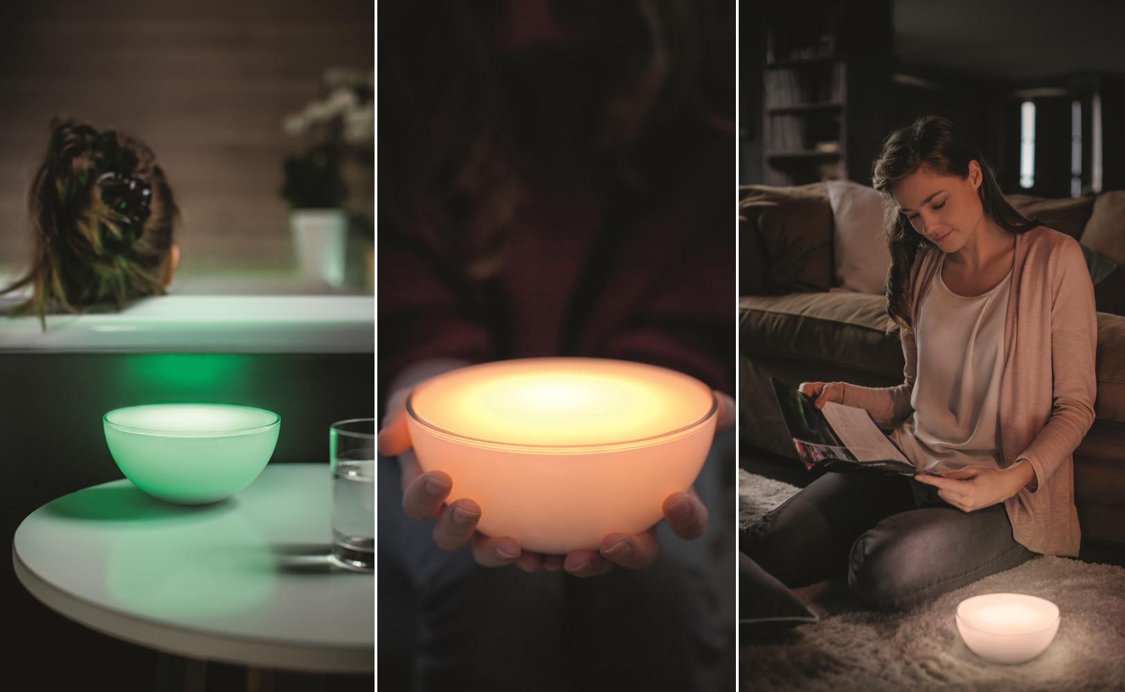 philips hue go lampe. Black Bedroom Furniture Sets. Home Design Ideas
