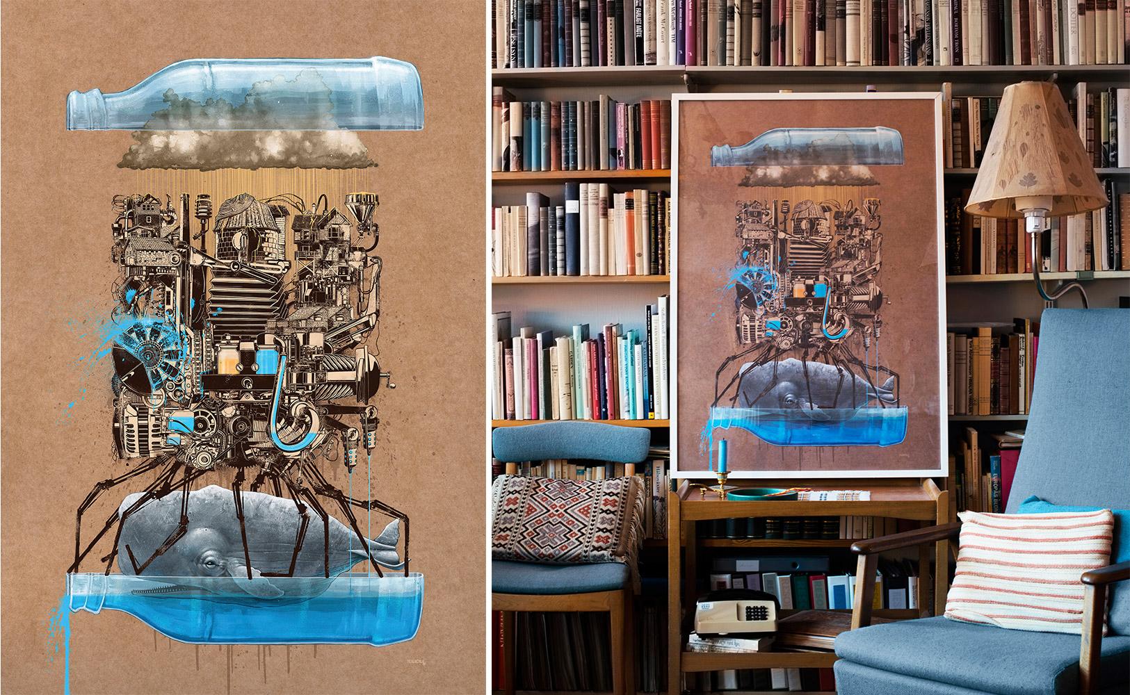 Schwedische Landhaus Tapeten : Street Art f?r Zuhause von IKEA – Raumideen.org