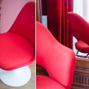 Vesper Hotel Red Room