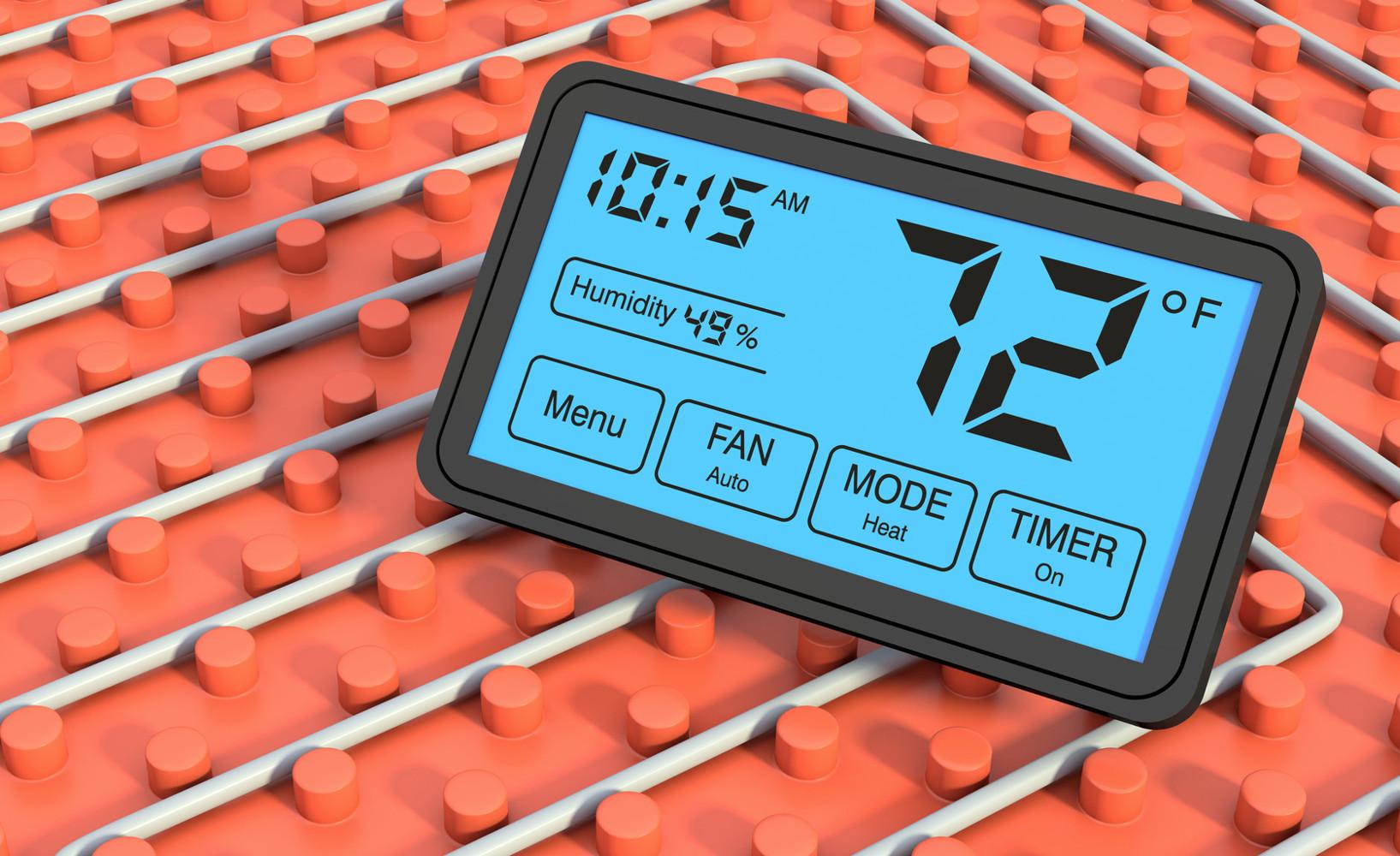 Elektrische Fußbodenheizung | Raumideen.org