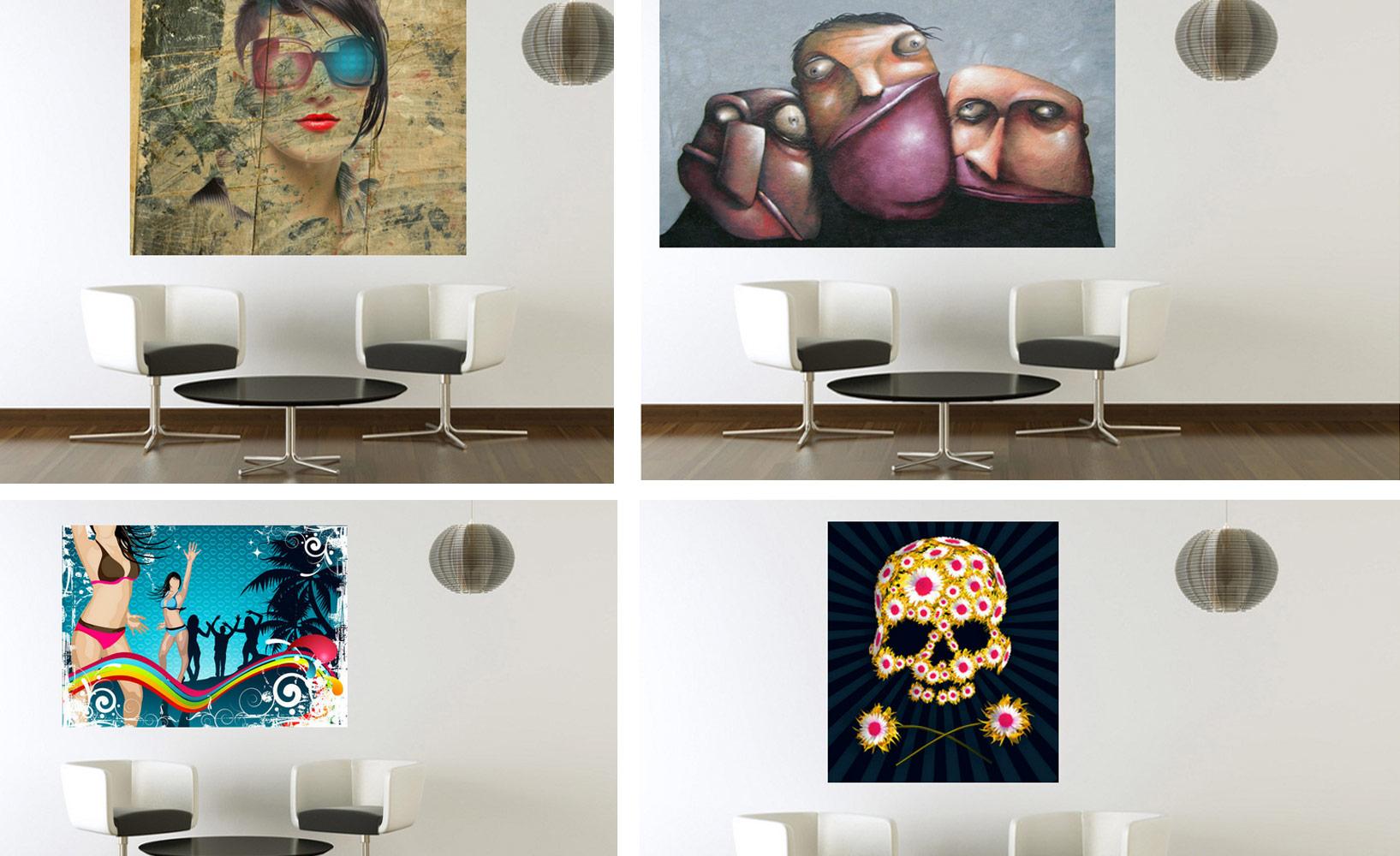 Perfekt Kunst In Die Wohnung Integrieren