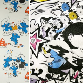 wallpaper Schtroumpfs