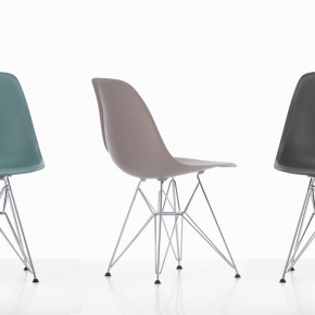 Vitra Stuhl Eames Plastic Chair Gruppe 3 Bunt