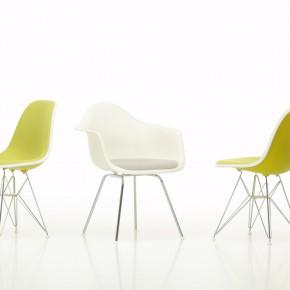Vitra Stuhl Eames Plastic Chair Gruppe 3 Gelb
