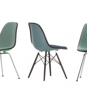 Vitra Stuhl Eames Plastic Chair Gruppe 3 Grün frei