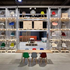 Vitra Stuhl Eames Plastic Chair Mailand