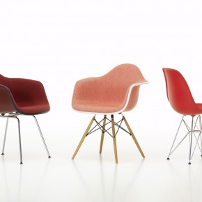 Vitra Stuhl Eames Plastic Chair Gruppe farbig