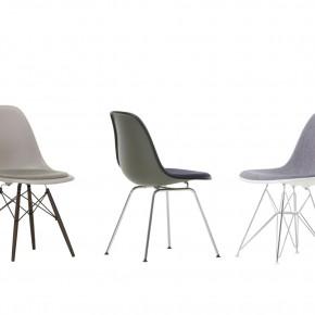 Vitra Stuhl Eames Plastic Chair Gruppe grau