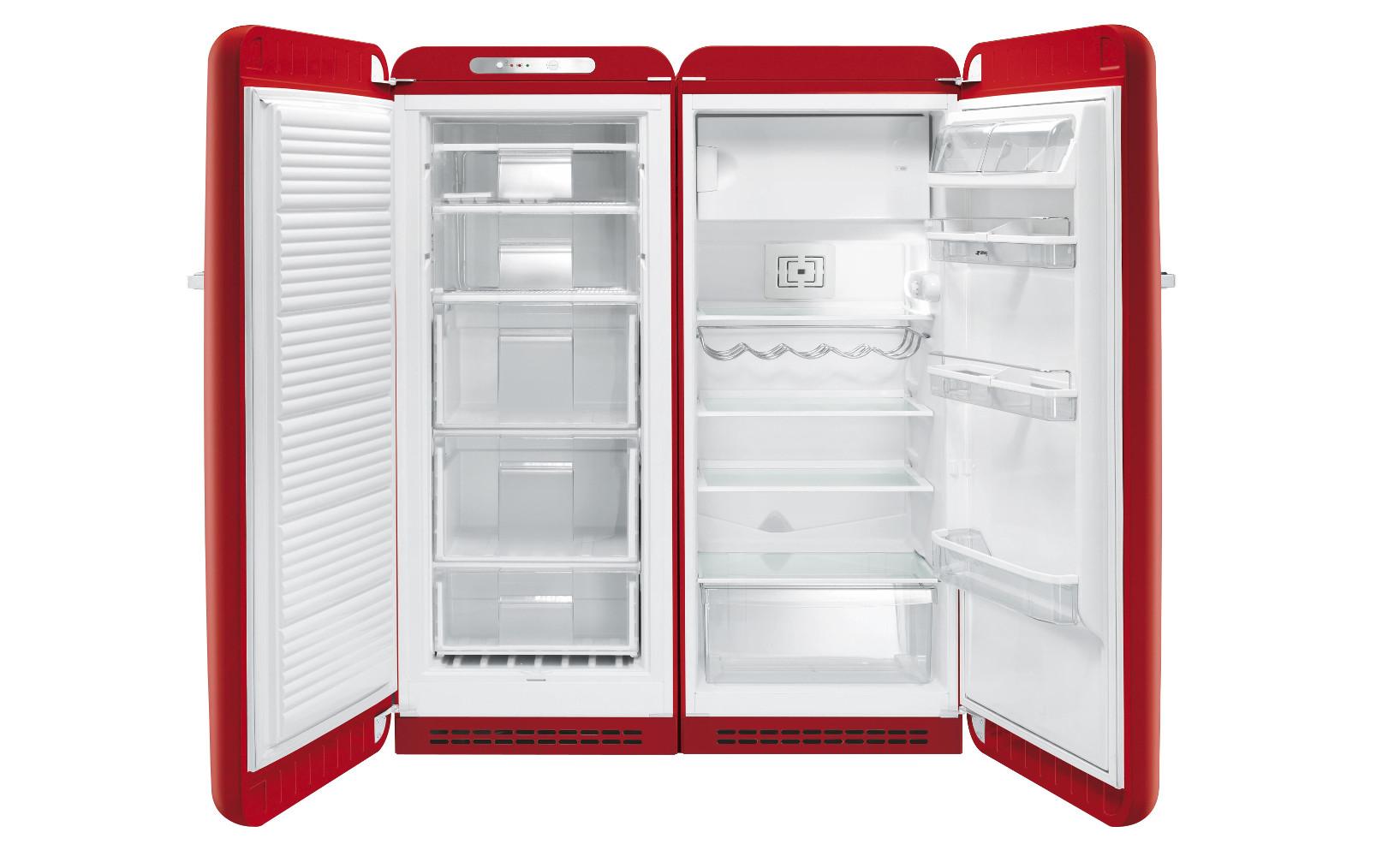 Energie sparen Kühlschrank side by side