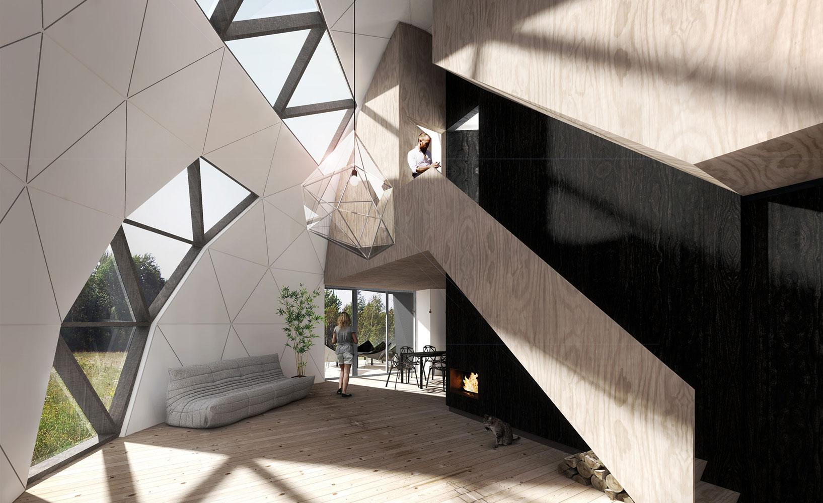 superior einfache dekoration und mobel dome das etwas andere mobilheim aus lettland #1: DOME NRJA