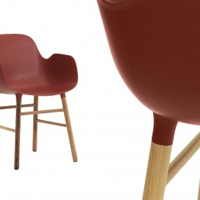Form Armchair Rot