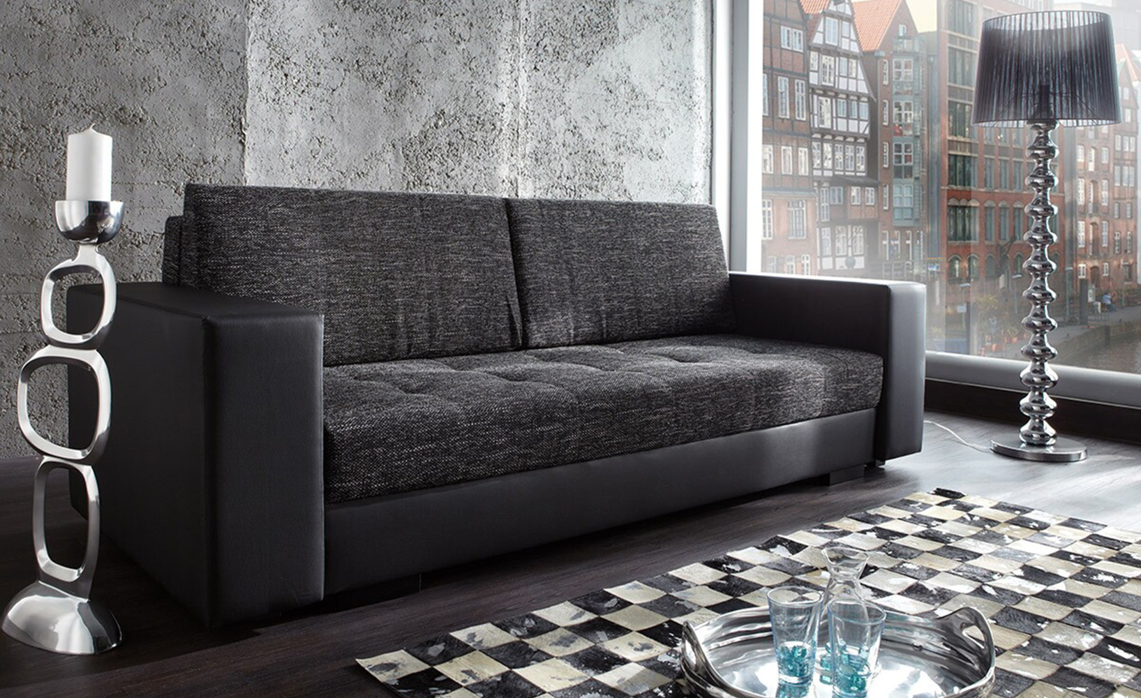 das richtige schlafsofa finden. Black Bedroom Furniture Sets. Home Design Ideas