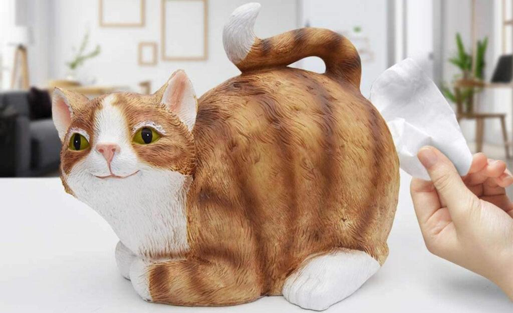 Taschentuchspender Katze