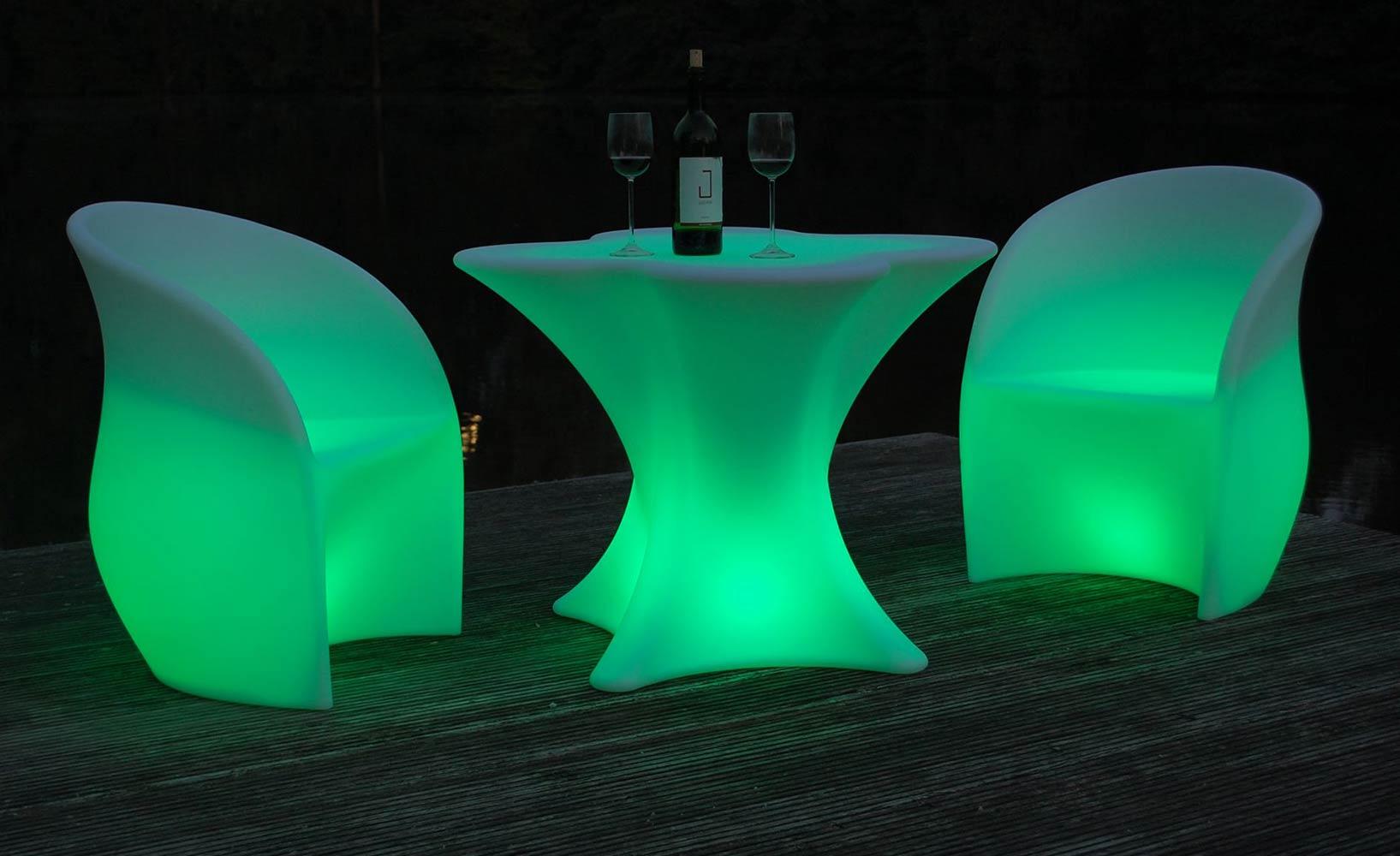 LED-Möbel für ultimative Wohlfühlatmosphäre