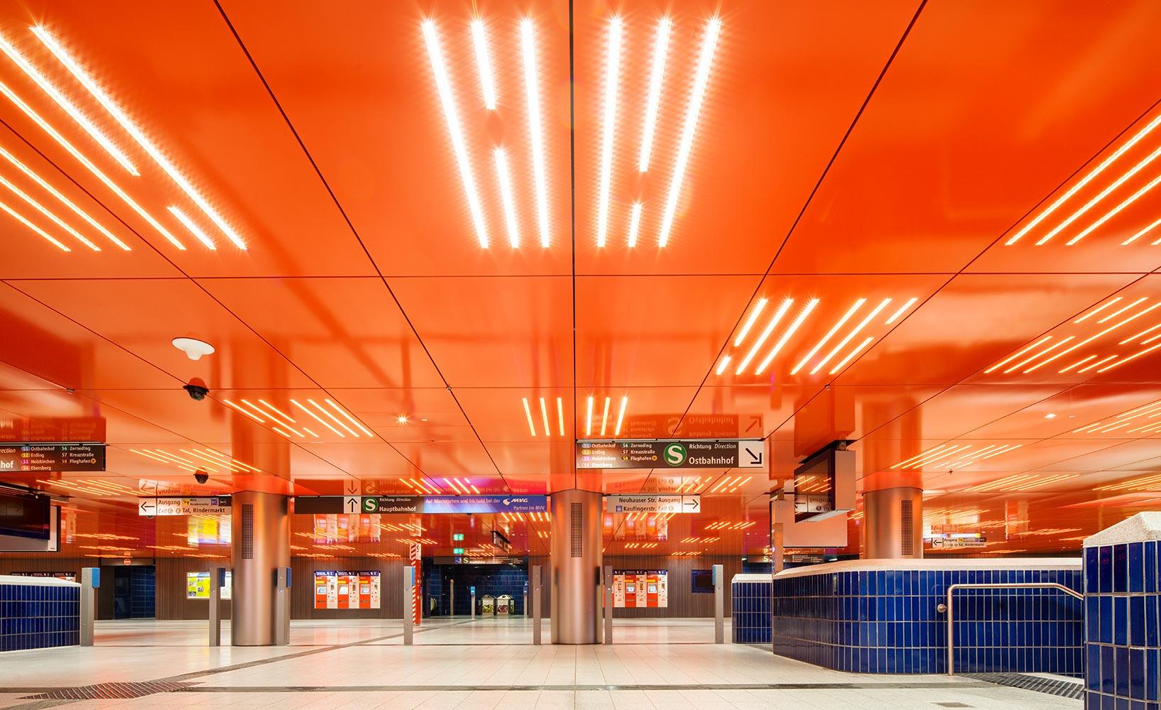 Architektonische Highlights unterstreichen