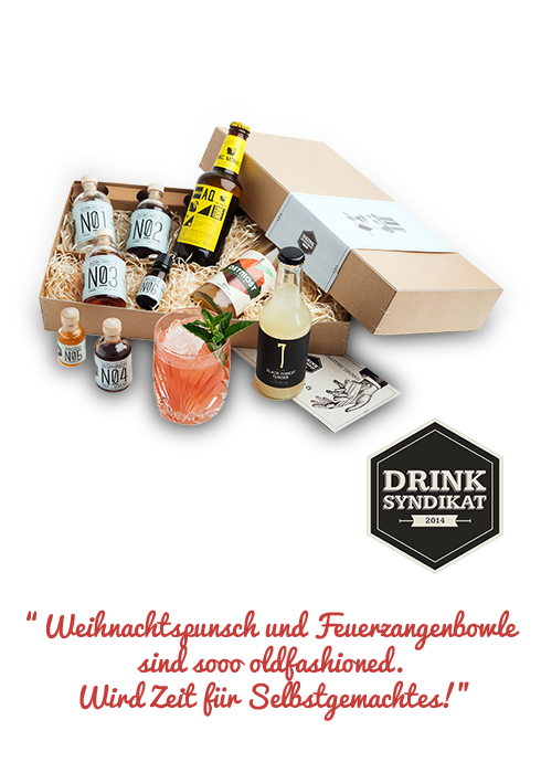 DIY-Cocktail-Set von Drink-Syndikat