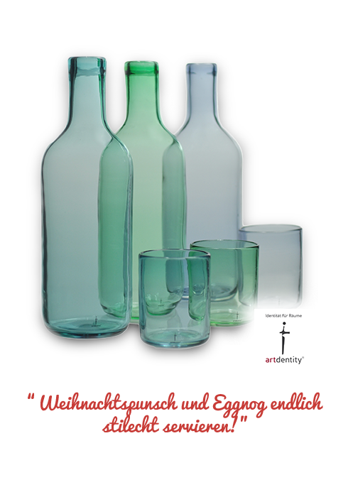 Karaffe-Gläser-Set von artdentity