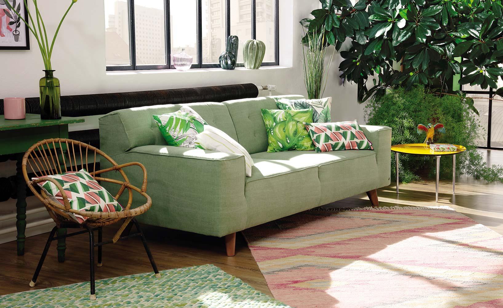 Trendfarbe Greenery