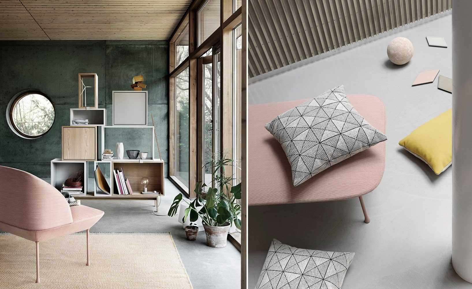 skandinavische Sofakollektion