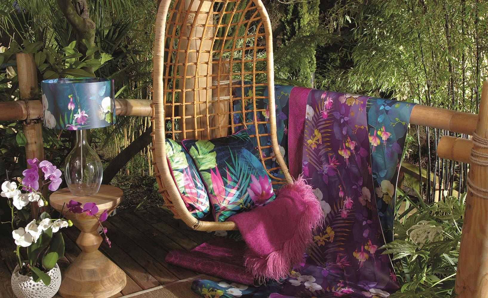 Tropisch einrichten exotische raumideen for Asiatische wohnungseinrichtung