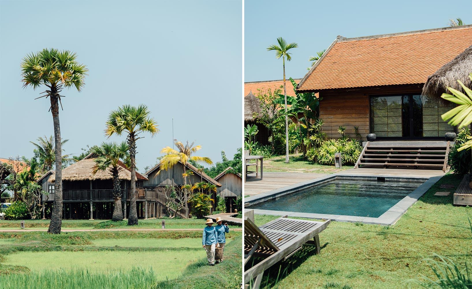 Charming Einfache Dekoration Und Mobel Authentischer Urlaub Im Designhotel Phum Baitang #11: Poolvilla Phum Baitang