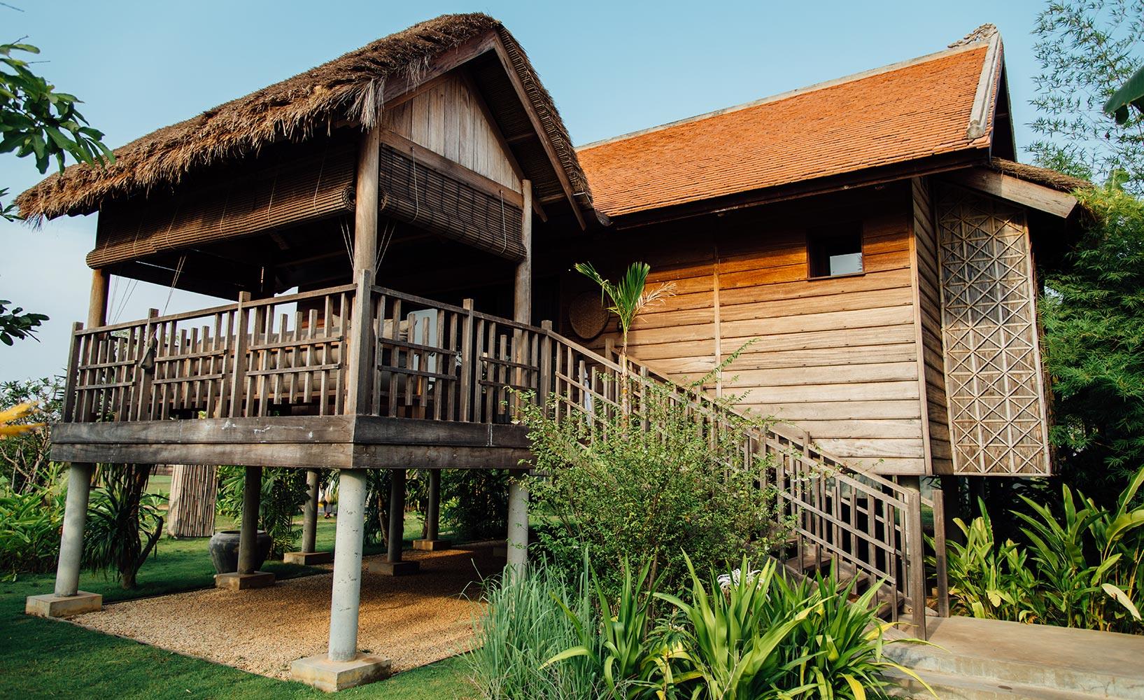 Einfache Dekoration Und Mobel Authentischer Urlaub Im Designhotel Phum Baitang #22: Terrassenvilla Phum Baitang