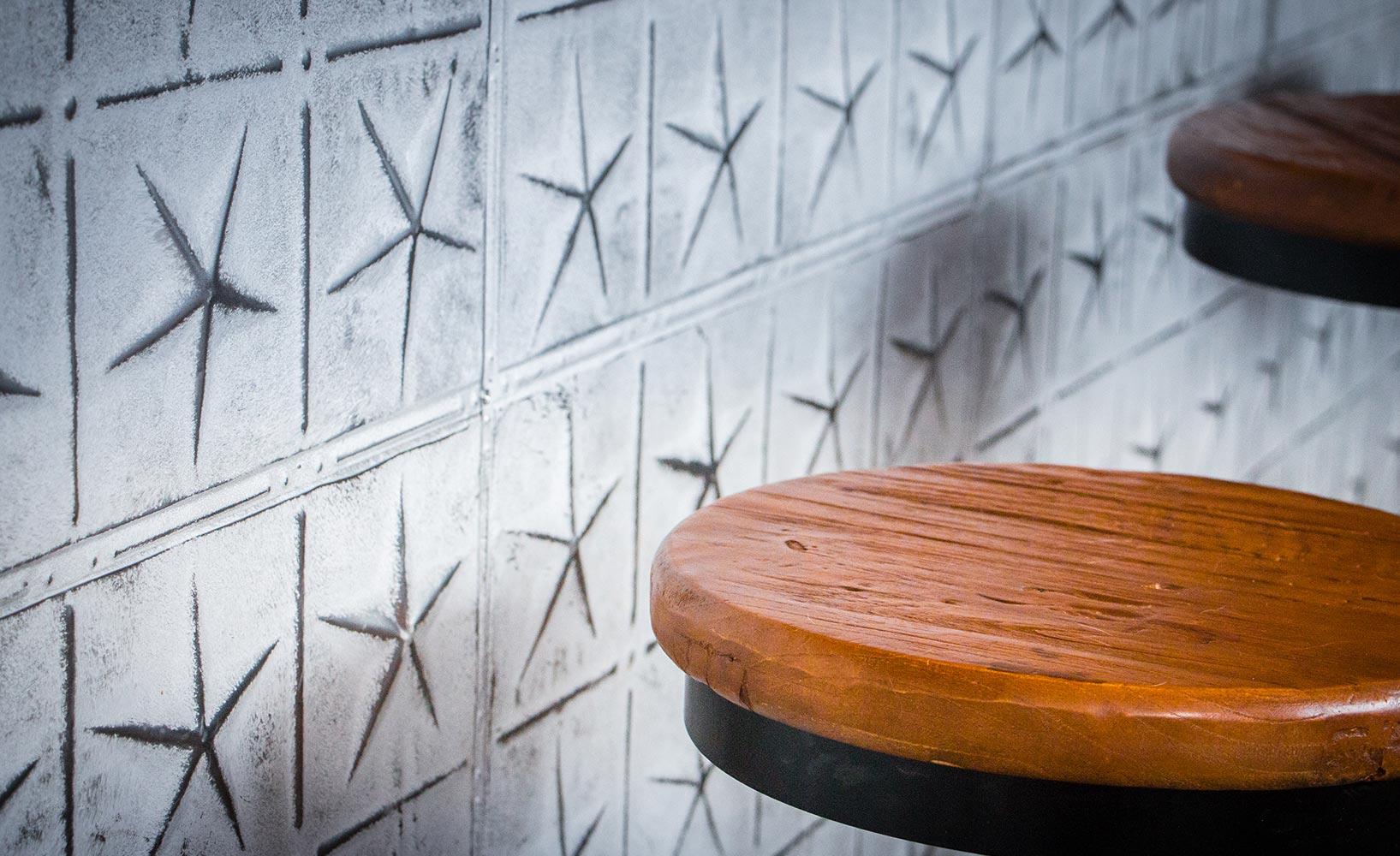 Wandplatten als Deko